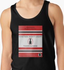 Nineteen Eighty Eight Book Cover Tank Top