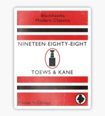 Nineteen Eighty Eight Book Cover Sticker