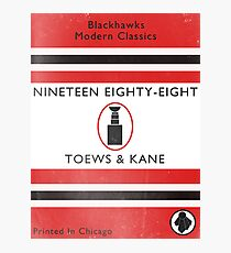 Nineteen Eighty Eight Book Cover Photographic Print