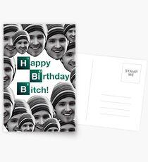 Happy birthday Breaking Bad Jessie Postcards
