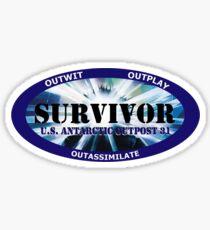 Survivor:  Outpost 31 Sticker