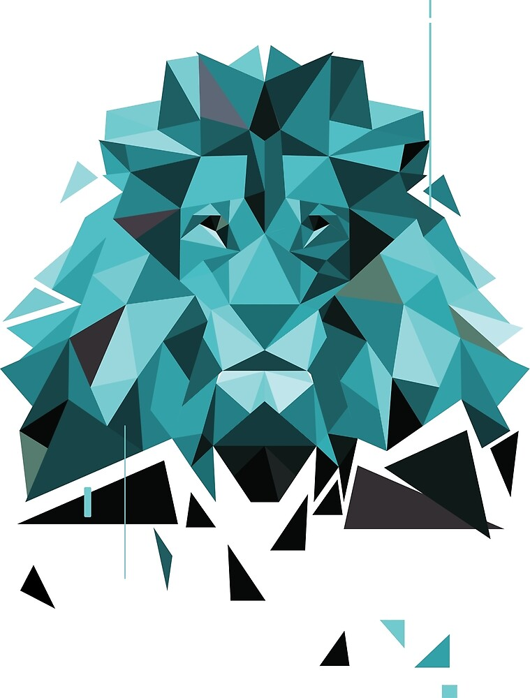 LOW POLY LION by chabri