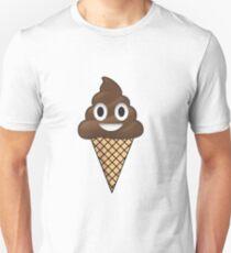 Poop Emoji Ice Cream Unisex T-Shirt