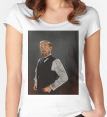 Professor James Moriarty Women's Fitted Scoop T-Shirt