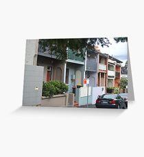 Glebe Streetscape Greeting Card
