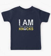 I Am The One Who Knocks (Breaking Bad) Kids Tee