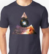 Messier 17, Eye of Centaurus A [Triangle]   Third Eye Unisex T-Shirt