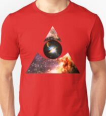 Messier 17, Eye of Centaurus A [Triangle] | Third Eye Unisex T-Shirt