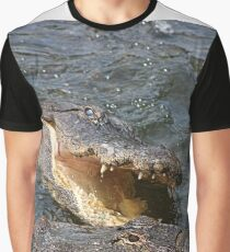 Alligator Action Graphic T-Shirt