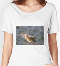 Alligator Action Women's Relaxed Fit T-Shirt