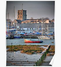 Shoreham - West Sussex - The Golden Hour  - HDR Poster