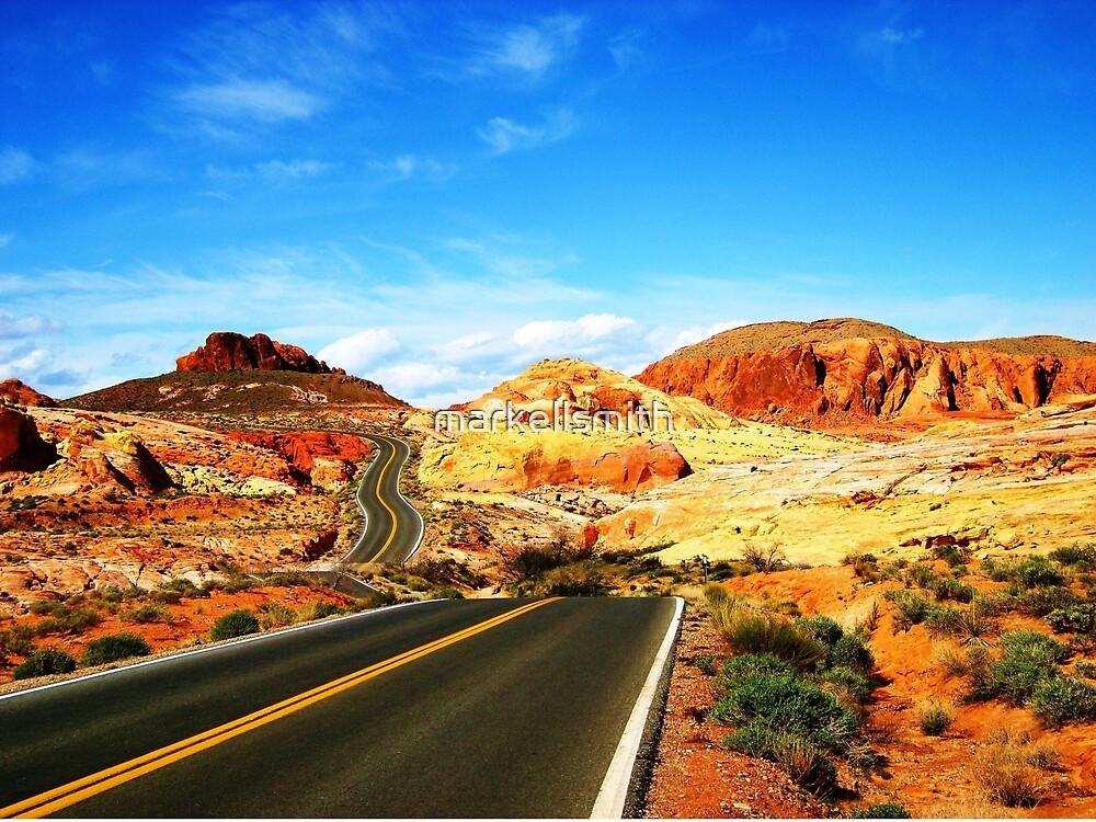The Curvy Road by markellsmith