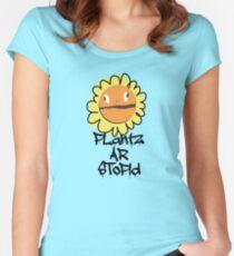 PLantz AR SToPiD, Art Inspired by Plants Versus Zombies: Garden Warfare Women's Fitted Scoop T-Shirt