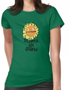 PLantz AR SToPiD, Art Inspired by Plants Versus Zombies: Garden Warfare Womens Fitted T-Shirt