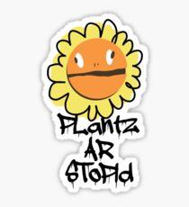 PLantz AR SToPiD, Art Inspired by Plants Versus Zombies: Garden Warfare Sticker