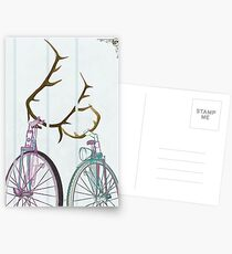 Bicycle Love Postcards