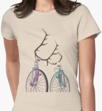Bicycle Love Women's Fitted T-Shirt