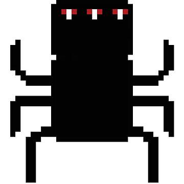 8-Bit Spider-like Creature by adamhunter
