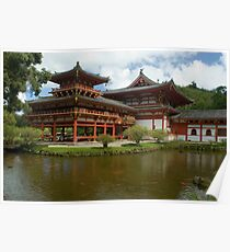 Buddhist Temple hawaii Poster
