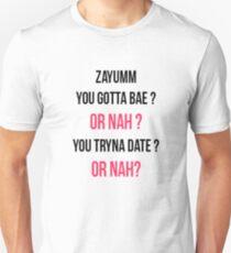 NASH GRIER CAMERON DALLAS OR NAH Unisex T-Shirt