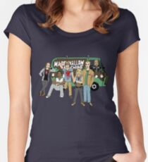 Marshmallow Machine Women's Fitted Scoop T-Shirt