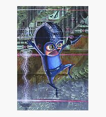 Megaman / Rockman Nintendo Photographic Print
