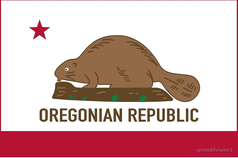 Oregonian Republic by spreadtheweird