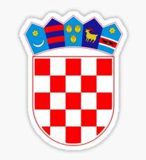 Coat of Arms of Croatia  Sticker