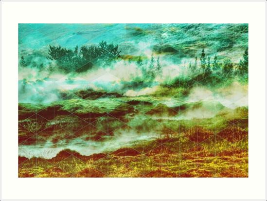 GAMMA Geometric landscape by absolutewhite