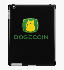 Dogecoin inspired by John Deere iPad Case/Skin