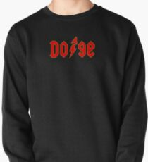 Dogecoin inspired by AC/DC Pullover