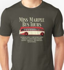 Classic Bus Agatha Christie Tour Unisex T-Shirt