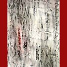 """Winter"" Abstract, mixed media by Annie Coe"