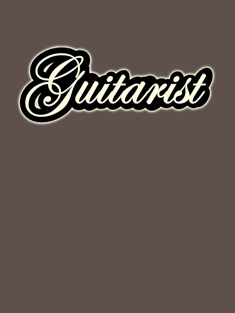 Vintage Guitarist by felinson