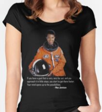 Mae Jemison Women's Fitted Scoop T-Shirt