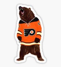 Flyers Ghost Bear Sticker