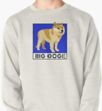 "Dogecoin inspired by ""Big Dogs"" Pullover"