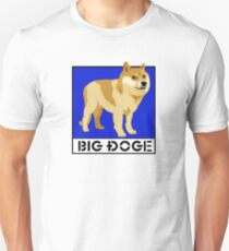 "Dogecoin inspired by ""Big Dogs"" Unisex T-Shirt"