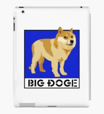 "Dogecoin inspired by ""Big Dogs"" iPad Case/Skin"