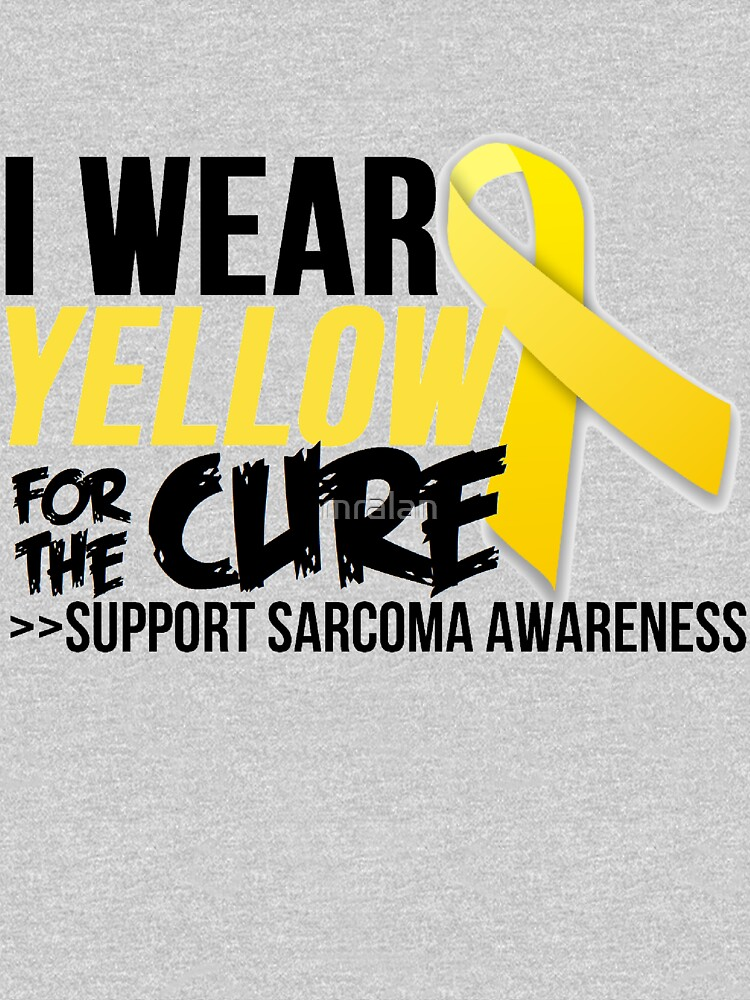 Sarcoma Ribbon For The Cure  by mralan