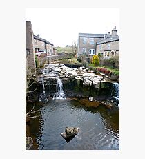 Falls on the River Ure, Hawes, Yorkshire Dales Photographic Print