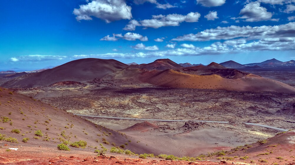 Martian Ground or Lanzarote? by pixog