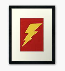 The Lightning Framed Print
