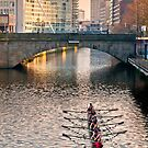 Rowing on the Irwell by Stephen Knowles