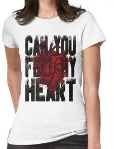 Feel my heart Womens Fitted T-Shirt