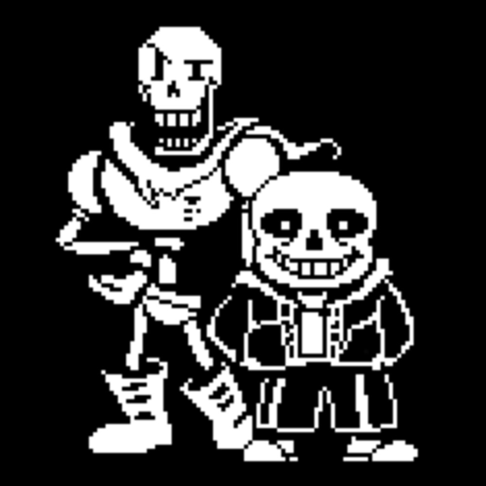 Sans and Papyrus from Undertale by ShawnEz :)