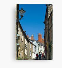 Pedestrians climbing Kings Street Canvas Print