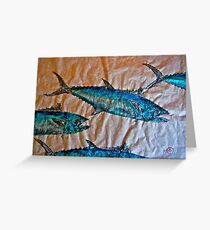 School of Mackerel - Spanish Invasion Greeting Card