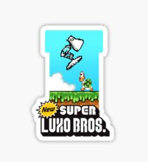 Super Luxo Bros. Sticker