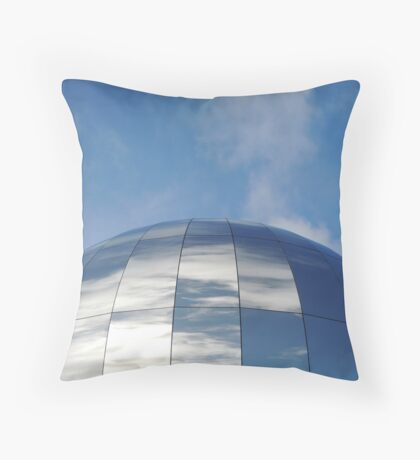 One Can Think Deeply And Be Quite Insane.... Throw Pillow